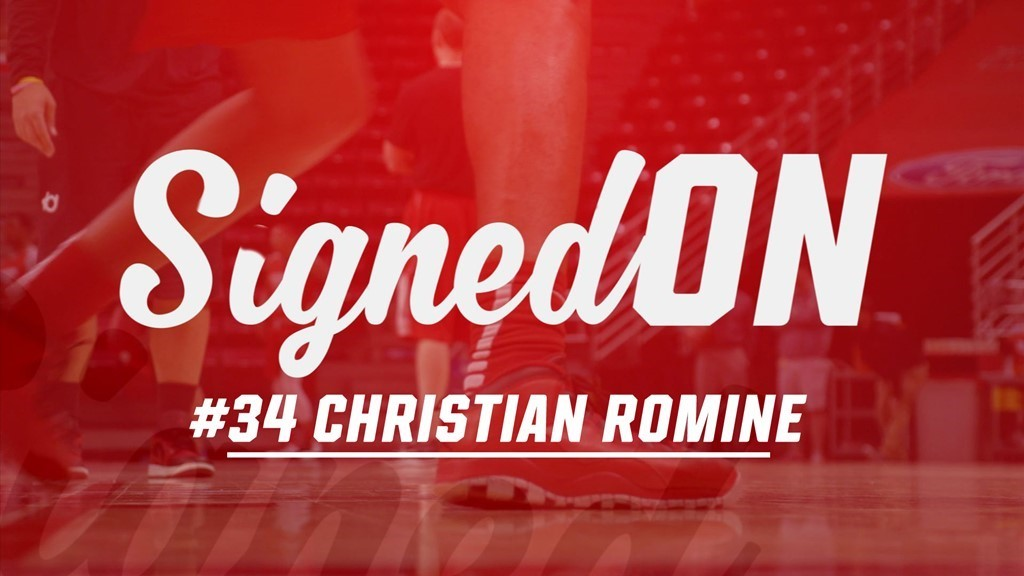 Signed On: 2016-17 ISU Basketball Newcomers - Christian Romine